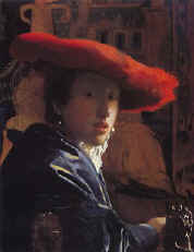Girl with a Red Hat  1665-66