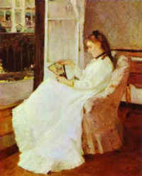 Berthe Morisot. The Artist's Sister at a Window.